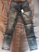 NWT 3x1 Women's Denim W1  Low Rise Light Vintage Skinny Jeans Sz 26 $285