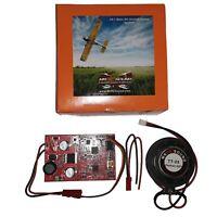 MrRCSound V4.1  RC Aircraft Airplane Sound System w/ Sound-Card TT-25 Wires DVD