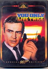 You Only Live Twice (1967), Sean Connery, Special Edition+Extras,Region 2 DVD
