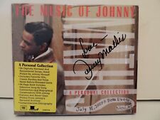 One of a kind ! Signed Johnny Mathis CD Set The Music of Johnny (Sealed),C4K8567