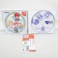 Dreamcast TRICOLORE CRISE with SPINE CARD * SEGA Victor dc