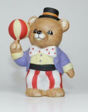 Vintage Homco Bear Porcelain Figurine - Series #1449 - Circus Bear with Ball