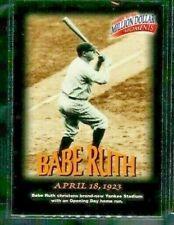 1997 Fleer MILLION DOLLAR MOMENTS #3 of 50 BABE RUTH New York Yankees COMB SHIP