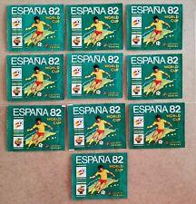 10 x Original Panini ESPANA '82 sealed (full) packets - 1982 - mint condition