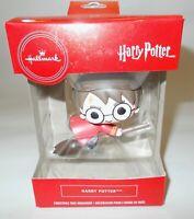 Hallmark Red Box Christmas Tree Ornament Harry Potter On Broom 2019 New
