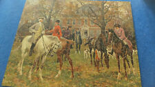 """Parker Bros Jigsaw puzzle """"Good Old Days in Virginia"""" 500 pieces"""