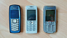 Nokia 3100, Sony Ericsson T630 & K700i job lot