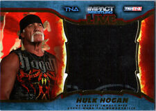TNA Hulk Hogan 2013 Impact Wrestling LIVE GOLD Jumbo Relic Card SN 28 of 50