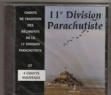 CHANTS  de  TRADITION  de   la   11°DIVISION   PARACHUTISTE    :     17   CHANTS