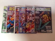 Secret Files And Origins Near Mint 6 Book Lot Set Run Aquaman JLA Superman