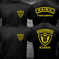 New Kaibil Kaibiles Guatemalan Special Forces Paracaidista Paratrooper T-shirt