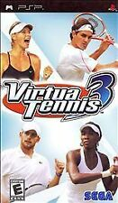 Virtua Tennis 3 UMD PSP COMPLETE SONY PLAYSTATION PORTABLE GAME
