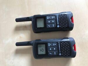 Pair of Motorola TLKR T60 8KM Intercom Room Monitor