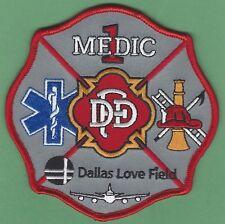 DALLAS LOVE FIELD AIRPORT TEXAS MEDIC 1 FIRE RESCUE PATCH