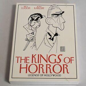 Legends of Hollywood The Kings of Horror Bela Lugosi Boris Karloff 5 DVD Set New