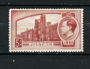 GREAT BRITAIN 1936 UNISSUED KEVIII MNH