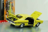 1969 Dodge Charger R/T Movie Dirty Mary Crazy Larry Lemon green 1:18 Auto world