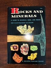 Rocks and Minerals (A Golden Nature Guide) 20th Printing 1964 (Softcover) (Used)