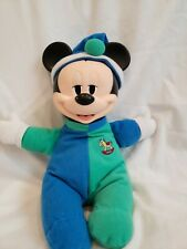 New listing Vintage Mickey Mouse in Pajamas Mattel Light up plush Toy Working