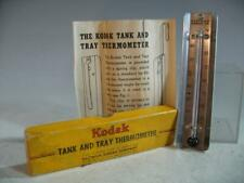 Vintage Eastman Kodak Tank And Tray Thermometer In Original Box #102