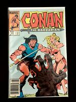 CONAN THE BARBARIAN VOL.1 #161 MARVEL COMICS 1984 VF+ NEWSSTAND EDITION