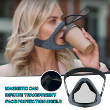 Reusable Open The Smart Mask With Double Anti-Fog The Protective Silica Gel