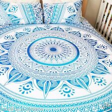 Indian Mandala Bedding Bed Sheet Handmade Coverlet Bed Cover Queen Bed Throw