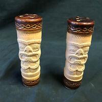 Kelvins Vintage Peanut Salt Pepper Shakers Shaker Set Tiki Aloha Hawaiian Rare