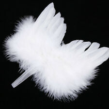 Chic Angel Feather Wing Christmas Tree Decoration Hanging Ornament Wedding Fad