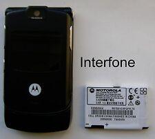 Motorola V3 Mobile Phone-T Mobile/EE/Virgin-V/Good Cond-Optional Charger Bundle