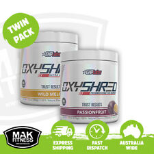EHPlabs OxyShred Thermogenic Fat Burner | Twin Pack | FREE Shipping