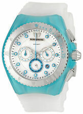 TechnoMarine Cruise Beach Chrono Turquoise and White Watch 109014 200 meters