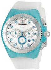 TechnoMarine Cruise Beach Chrono Turquoise and White Watch 109014 200 meters