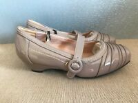 BNWT Ladies Sz 8 Rivers soft Brand Beige Slip on with strap casual style shoes