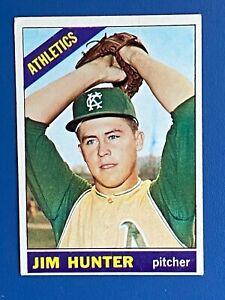 """1966 Jim """"Catfish"""" Hunter  #36"""