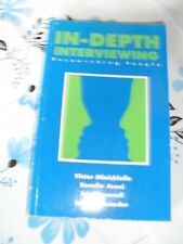 In-depth Interviewing Researching People Minichiello Aroni Timeswell 1990 book