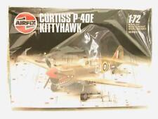 1:72 Airfix Curtiss P-40E Kittyhawk Plastic Scale Model Kit Sealed NOS 01038