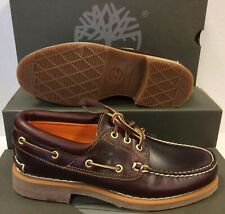 Timberland Classic Boat 3 Eye Mens Sneakers Shoes A11BZ, Size UK 7 / EUR 41