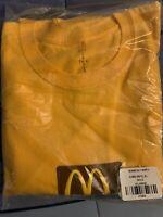 Travis Scott Catus Jack Mcdonalds Sesame INV T-shirt XL Gold