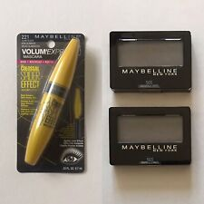 Maybelline Colossal Spider Effect Mascara, Eyeshadow 50S Tastefully Taupe 2 pack