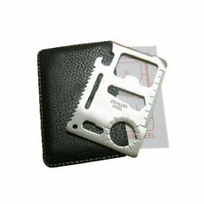 Credit Card Multi Tool Survival Kit with Protective Case