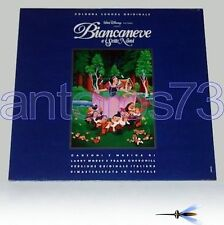BIANCANEVE E I SETTE NANI LP ITALY OST 1992 WALT DISNEY