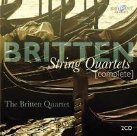THE BRITTEN QUARTET-BRITTEN: COMPLETE STRING QUARTETS 2 CD NEU BRITTEN,BENJAMIN