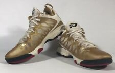 Nike Air Jordan CP3.VI SZ 9 Metallic Gold Nitro Chris Paul 535807-705 RARE! D11
