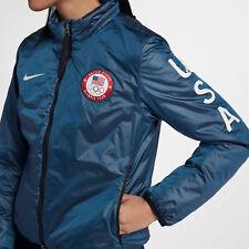 Nike NIkelab Team USA Olympic Summit Jacket 916683-474 Women's Size S