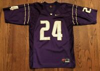 Washington Huskies Football #24 Vintage Nike Team Purple Jersey Men's Medium