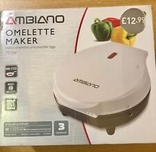 AMBIANO Omelette Maker  Makes 2 Omlettes - 700W BNIB Lot 1