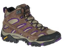 New Merrell Womens Moab Ventilator Mid Hiking Athletic Boots Size 10