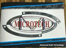 Microtech Knives Early Production 27 Pages Catalog 2012 Bradford Pa.