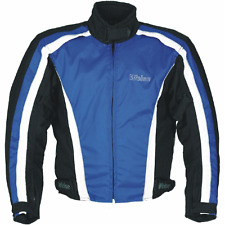 NEW WEISE LADIES VOYAGER 100% WATERPROOF / ARMOURED TEXTILE JACKET BLUE SIZE 14
